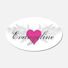 My Sweet Angel Evangeline Wall Decal