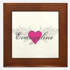 My Sweet Angel Evangeline Framed Tile