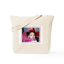 Taylor - Pink Ladybug Tote Bag