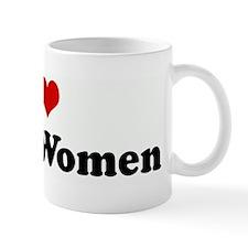 I Love Black Women Mug