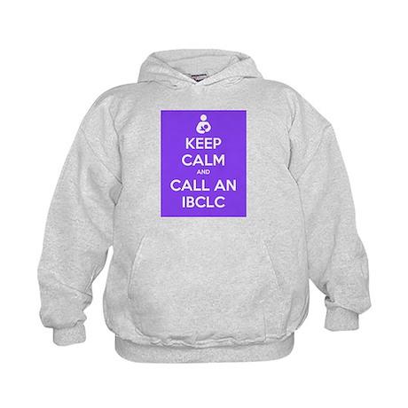 Keep Calm and Call an IBCLC Kids Hoodie
