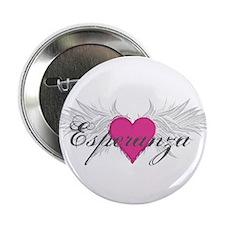 """My Sweet Angel Esperanza 2.25"""" Button"""