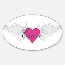 My Sweet Angel Erica Sticker (Oval)