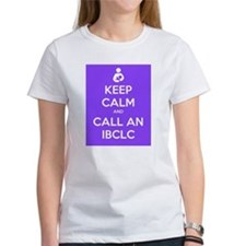 Keep Calm and Call an IBCLC Tee