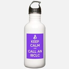 Keep Calm and Call an IBCLC Water Bottle