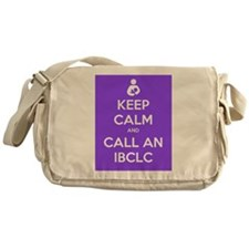 Keep Calm and Call an IBCLC Messenger Bag
