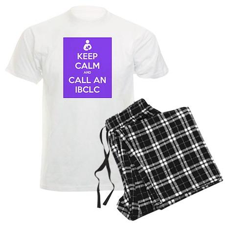 Keep Calm and Call an IBCLC Men's Light Pajamas