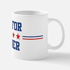 Vote for WARNER Mug
