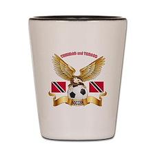 Trinidad and Tobago Football Design Shot Glass