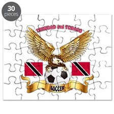 Trinidad and Tobago Football Design Puzzle