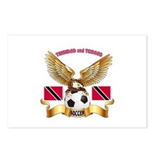 Trinidad and Tobago Football Design Postcards (Pac