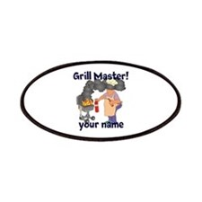 Personalized Grill Master Patches