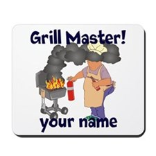 Personalized Grill Master Mousepad