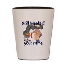 Personalized Grill Master Shot Glass