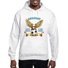 Uruguay Football Design Hoodie