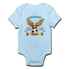 Uruguay Football Design Infant Bodysuit