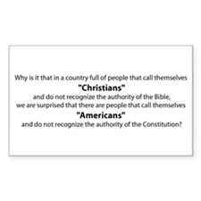 Authority of the Constitution Decal