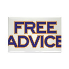 Free Advice Rectangle Magnet