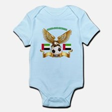 United Arab Emirates Football Design Infant Bodysu