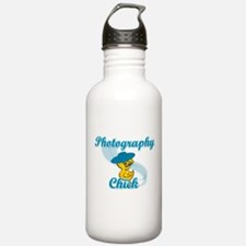 Photography Chick #3 Water Bottle