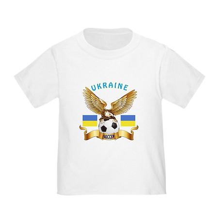 Ukraine Football Design Toddler T-Shirt