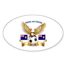 Turks and Caicos Football Design Decal