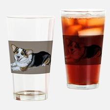 Corgimania Drinking Glass