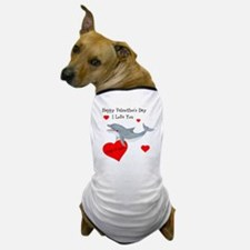 Personalized Dolphin Valentine Dog T-Shirt