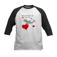Personalized Dolphin Valentine Tee