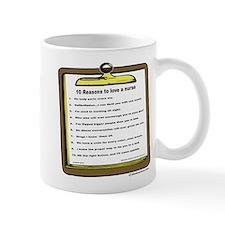 10 reasons to love a nurse Mug