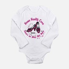 Home health care Long Sleeve Infant Bodysuit