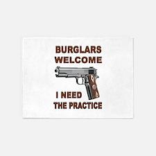 GUNS AT HOME 5'x7'Area Rug
