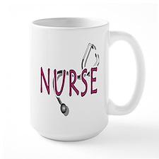 Nurse with stethescope Mug