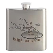 Chains..Meet Mr. Disc Flask