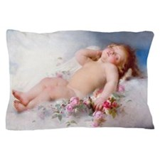Sleeping Putto Pillow Case