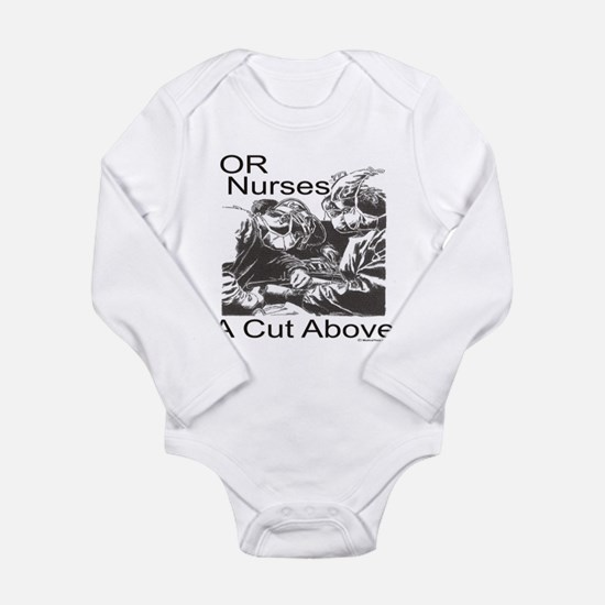 OR Nurses Long Sleeve Infant Bodysuit