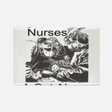 OR Nurses Rectangle Magnet