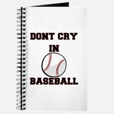 Dont Cry In Baseball Journal