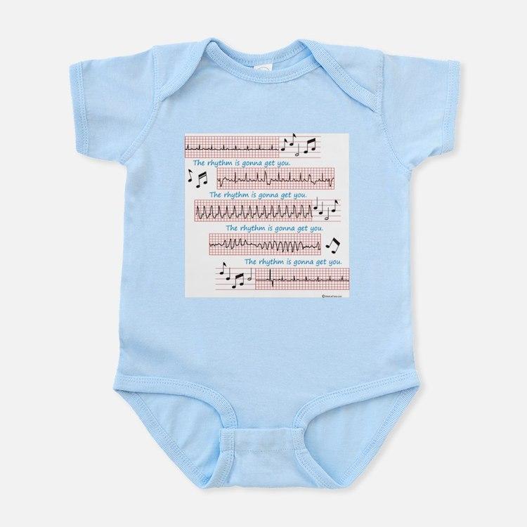 Rhythm is gonna get you Infant Bodysuit