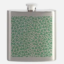 Four Leaf Clover - St Patricks Day Flask