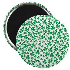 Four Leaf Clover - St Patricks Day Magnet