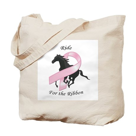 Ride for the Ribbon Tote Bag