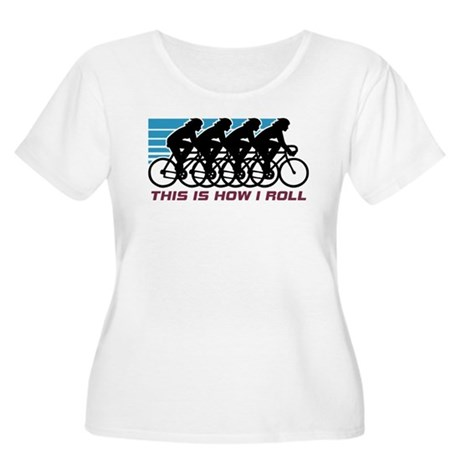 Cycling (female) Women's Plus Size Scoop Neck T-Sh
