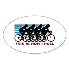 Cycling (female) Decal