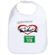 I survived my coronary bypass Bib