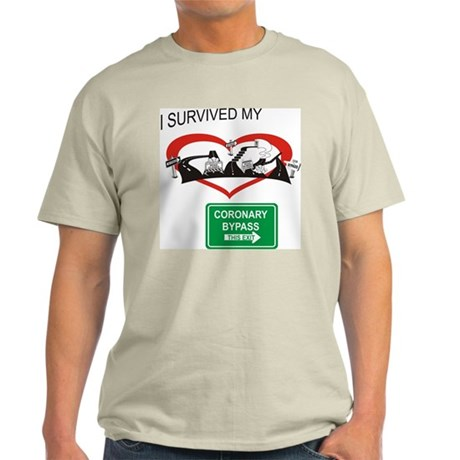 I survived my coronary bypass Light T-Shirt