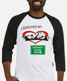I survived my coronary bypass Baseball Jersey