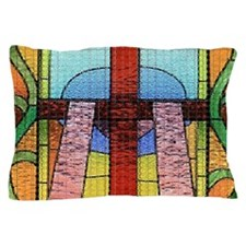 Act of Contrition Prayer Glass Pillow Case