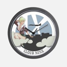 B-1 Nose Art Wall Clock