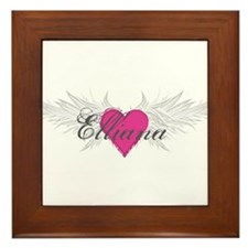 My Sweet Angel Elliana Framed Tile
